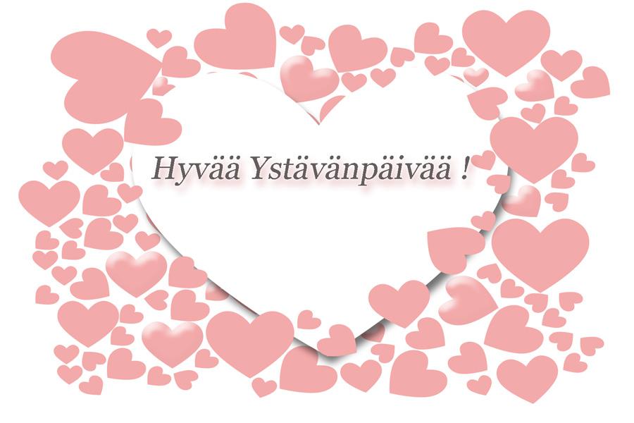 Hyvää Ystävänpäivää /Happy Valentine's   Merkintöjä Melukylästä