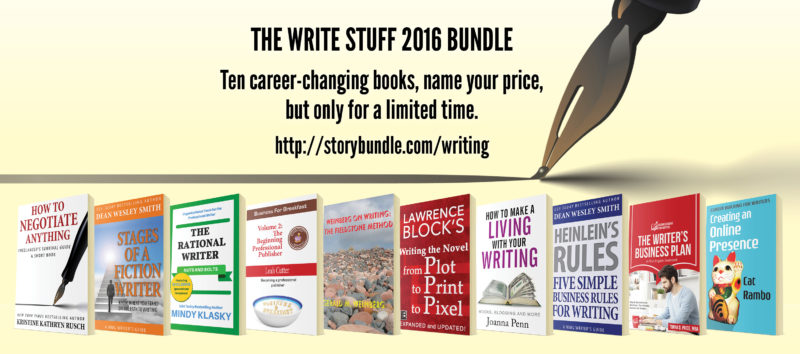 The Write Stuff 2016 ad