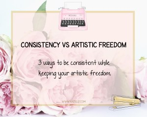Consistency Vs Artistic Freedom