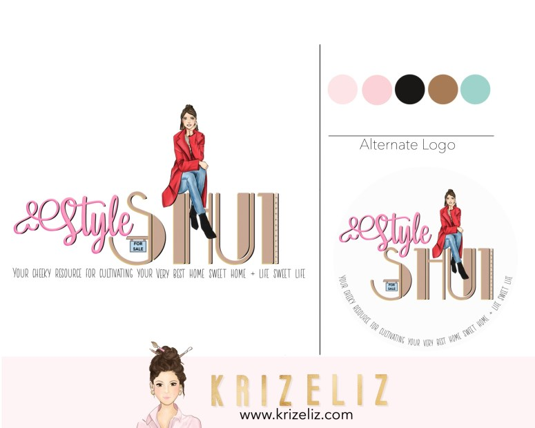 chic girly logo