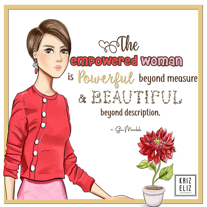 the empowered women quote