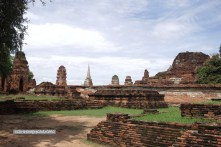 Historical remains of the Old Grand Palace, Ayuthaya