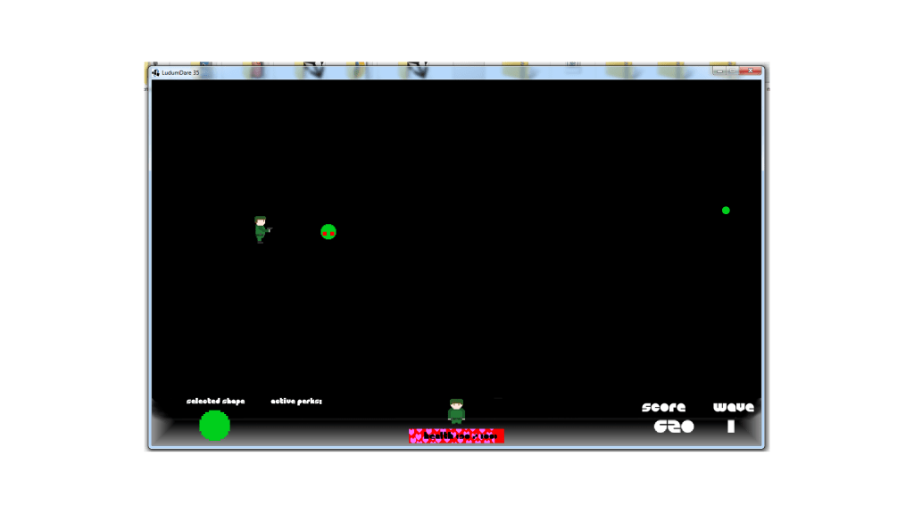 Geo Shifter - screen from the game
