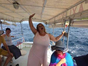 Poseidon! Gyere a mamához!