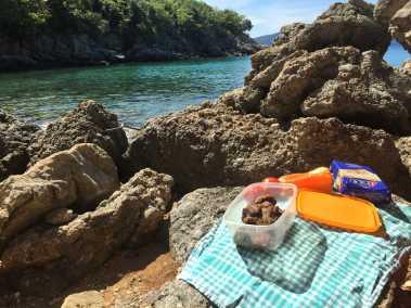 Tengerparti piknik