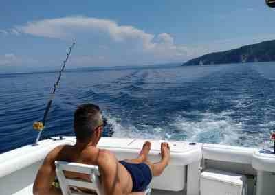Tengeri horgász túra (max. 4-5 fő)