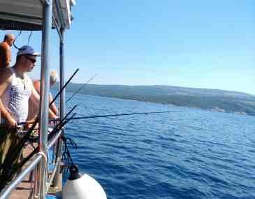 Horgásztúra az Oliga feldélzetén