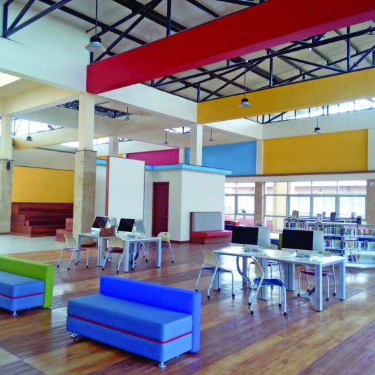 Mpesa Foundation Academy – Resource Centre – Interiors