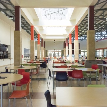 Mpesa Foundation Academy – 800-seater Dining Hall – Interiors