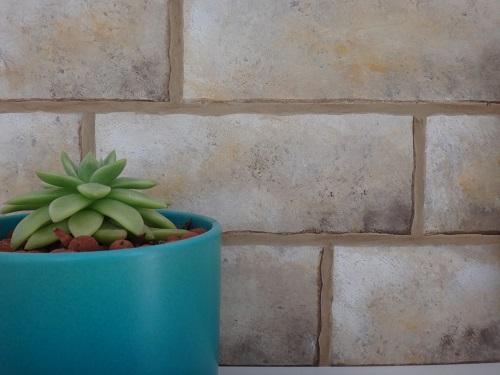 KRL peinture décoration imitation mur en pierre meuble en carton
