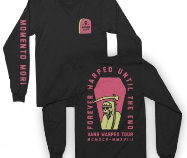 Vans Warped Tour Reaper Long Sleeve Black