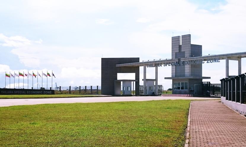ミャンマー ティラワ工業団地へ視察