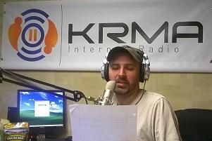 Earl at KRMA 1