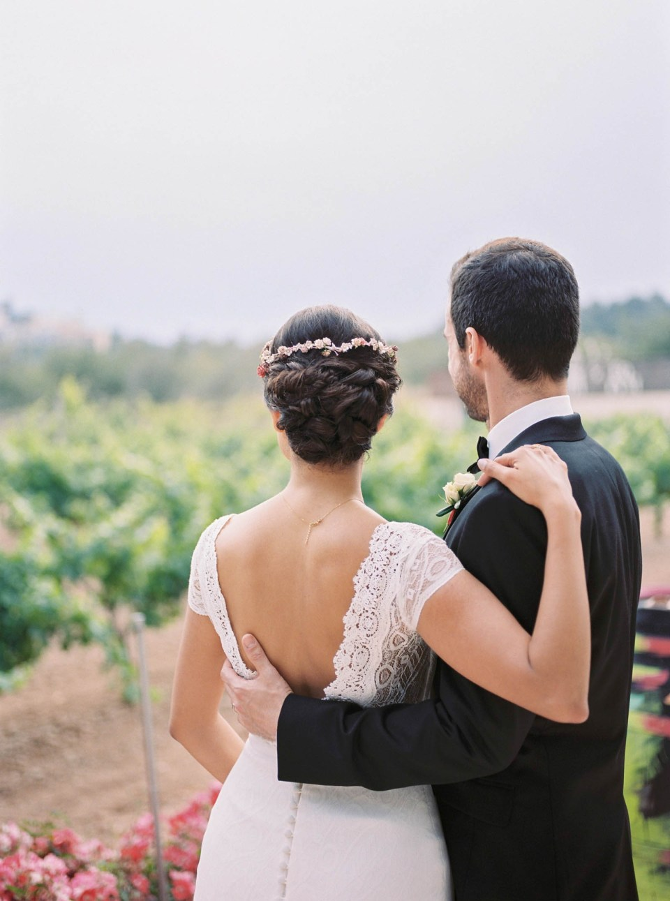 Spanish Vineyard Wedding | Costa Brava | Married Morenos