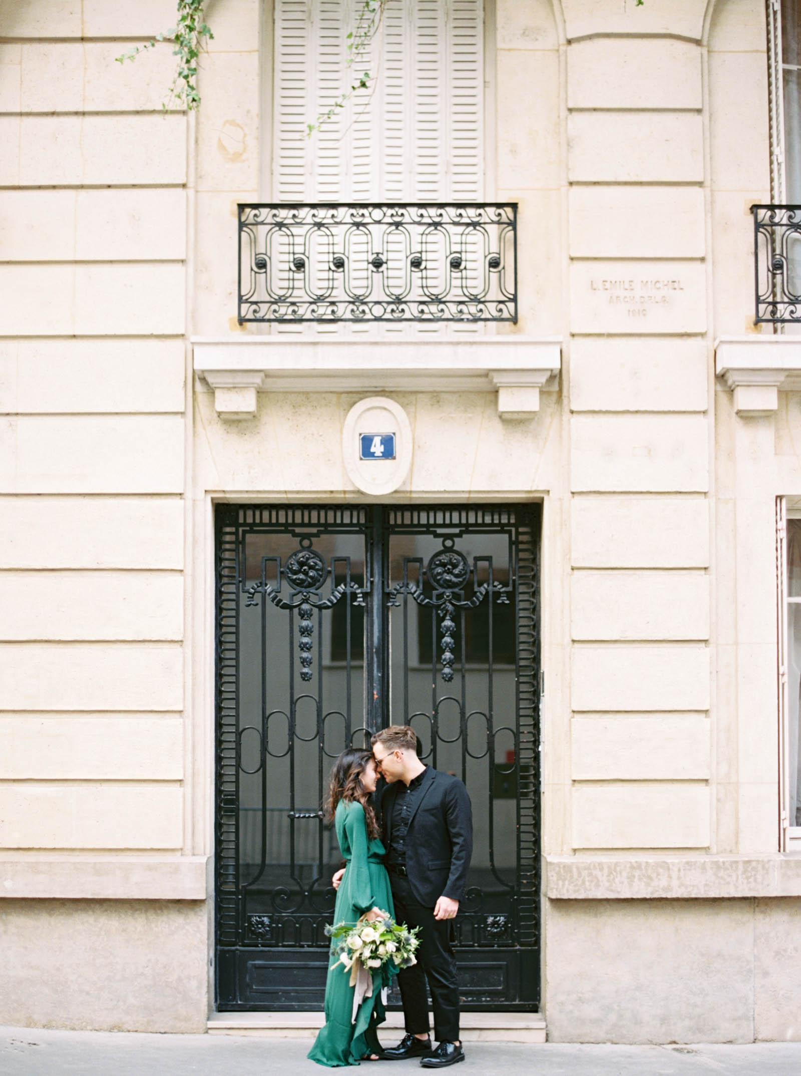 Europen Doors - Paris Engagement Photos - KR Moreno