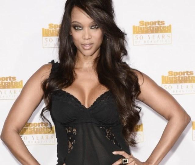Tyra Banks Talks Big Booty While Modeling Video