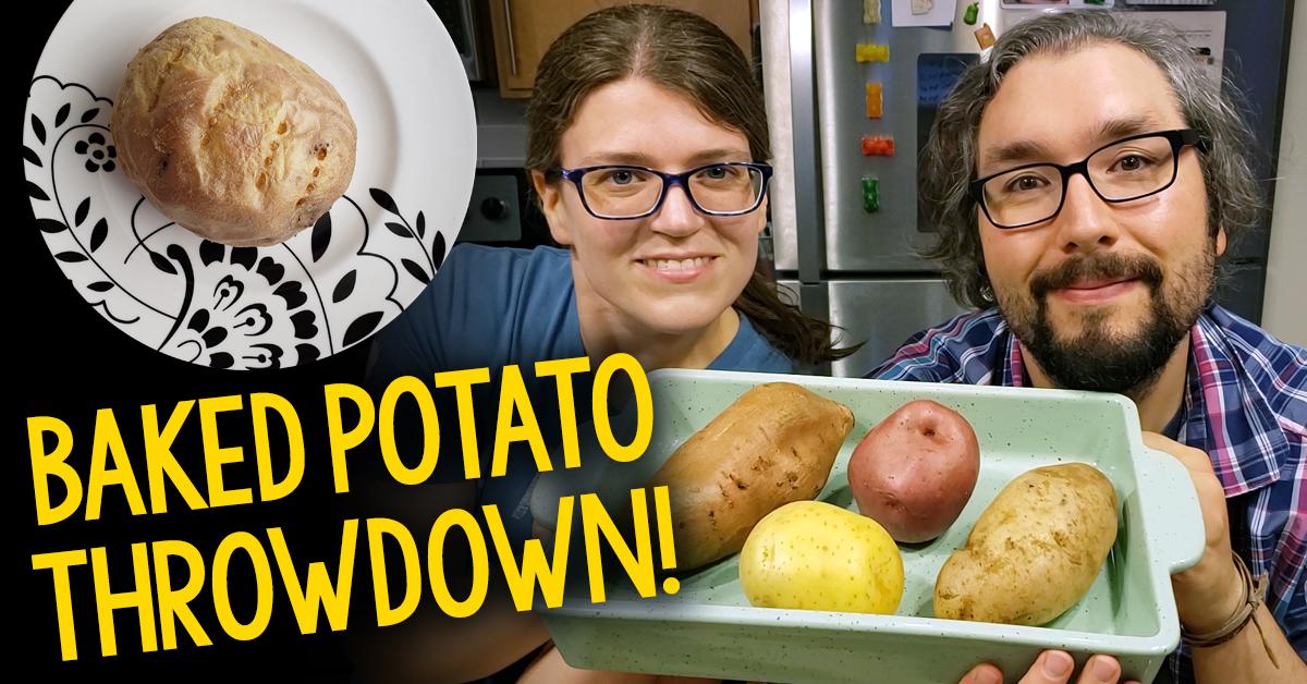 Baked Potato Throwdown: Russet vs  Yukon Gold vs  Red vs  Sweet
