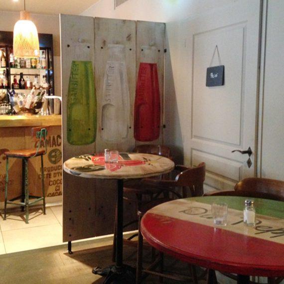 Décorations d'intérieur pour restaurant
