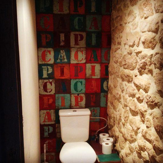 Décorations intérieur toilettes originaux