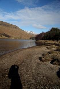 ich und mein Schatten und Loch Lubhair