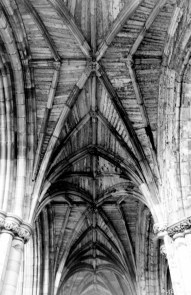 Melrose Abbey - I always have to think of pillars of the eart