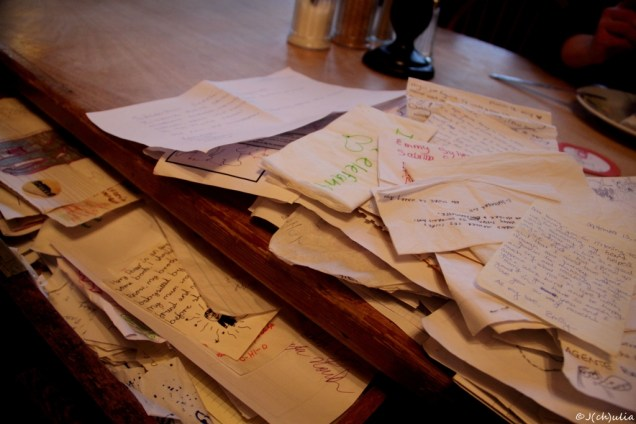 Letters to J.K.Rowling at the Elephant house