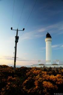 der Leuchtturm von Lossiemouth