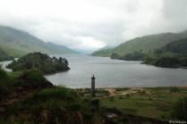 Loch Shiel, hier landete Bonnie Prince Charles