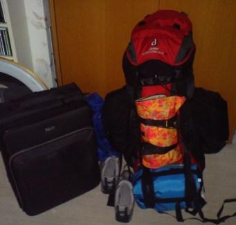 mein Rucksack <3 und brauch ichs Köfferle auch?