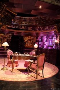 Umbridge's Büro, ein Traum in Fliederrosa