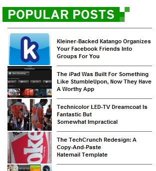 techrunch popular posts