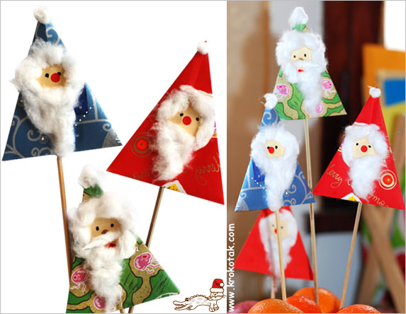 Krokotak Paper Cotton And Punch Hole CHRISTMAS CARD