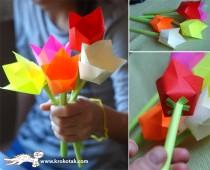 лесни цветя от хартия
