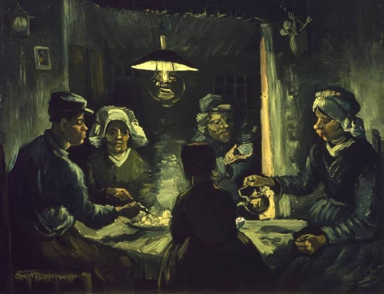 Image result for van gogh potato eaters kroller-muller
