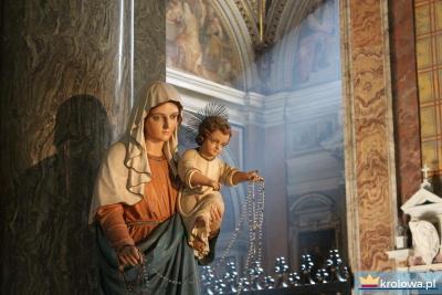 Matka Boża Różańcowa z Dzieciątkiem