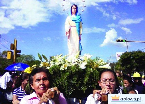 Objawiena Maryi w Nikaragui