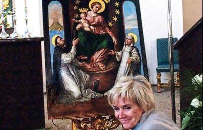 Obraz Matki Bożej Pompejańskiej Zielona Góra