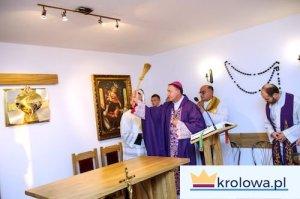 Poświęcenie kaplicy 14 XII 2013 przez ks. biskupa Andrzeja Jeża