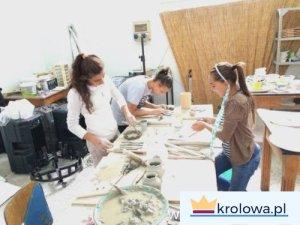 Pracownia artystyczna w szkole Bartola Longo
