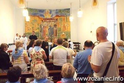 Spotkanie arcybiskupa z pielgrzymami z Polski