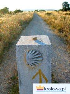 Kamień na drodze do Santiago