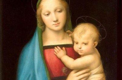 Madonna - obraz Rafaela