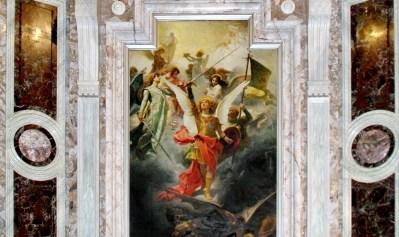 Obraz Michała Archanioła w Pompejach