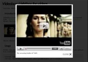 lightbox-videobox