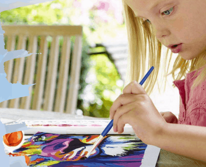 Paint by numbers for kids