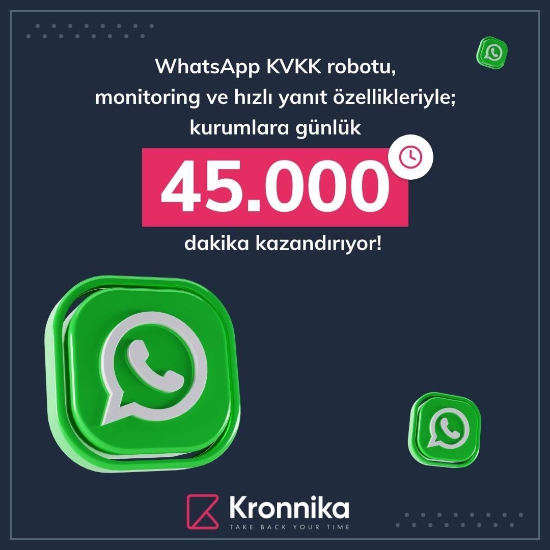 whatsapp kvkk ve hızlı yanıt robotu