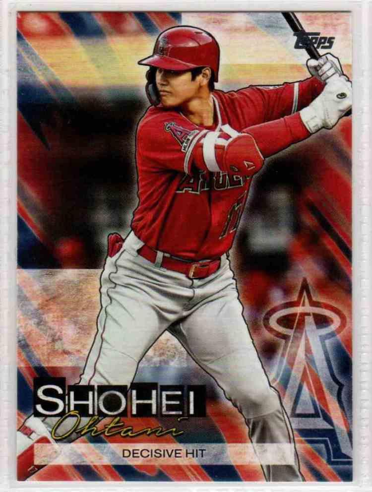 2019 Topps Update Shohei Ohtani Highlights Shohei Ohtani # ...