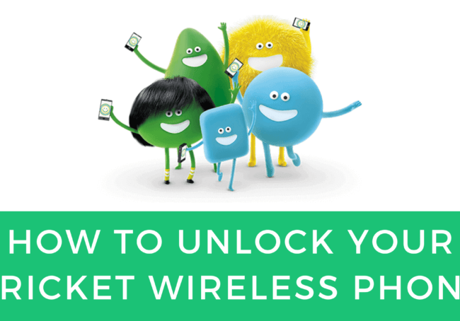 HOW TO UNLOCK YOUR CRICKET WIRELESS PHONE WITH APP