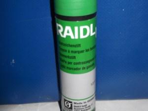 Маркер-олівець RAIDEX зелений 60 г