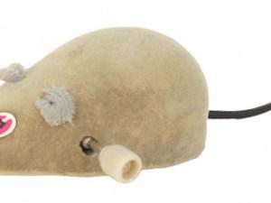 Іграшка д/котів мишка заводна 11 см